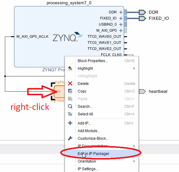 ZYNQ: Adding a Customization Parameter to Your Custom IP Core